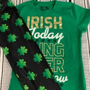 St. Patrick's Day outfit